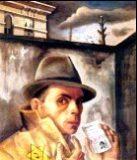 Auto-retrato con su documento de identidad judía (1913)