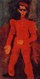 Botones de Maxim's 1925 Oleo 129.5 x 66 cm Albright-Knox Art Gallery