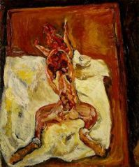 Le lapin ecorche  Oleo sobre lienzo (73 x 60 cm)  1921-1922 Fundación Barnes (Merion Station, Pennsylvanie )