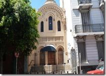 Frente Sinagoga de Piedras Comunidad judía marroquí de Argentin