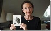 Eva Umlauf en su casa en Munich