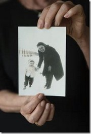 Eva Umlauf  de niña con su madre