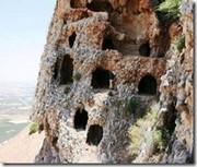 Cuevas de refugio de los rebeldes judíos en la guerra de hace 2.000 años